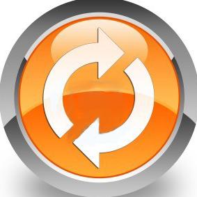 14516142-update-icon-on-glossy-orange-round-button