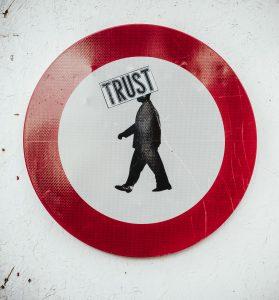 verboden verkeersbod trust
