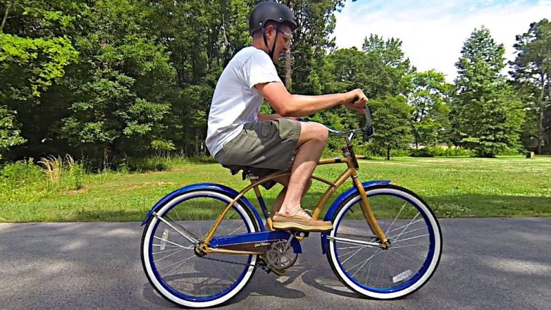 Destin Sandlin Backwards Bicycle
